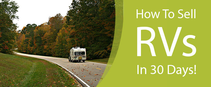 How To Sell RVs