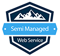 semi managed web service
